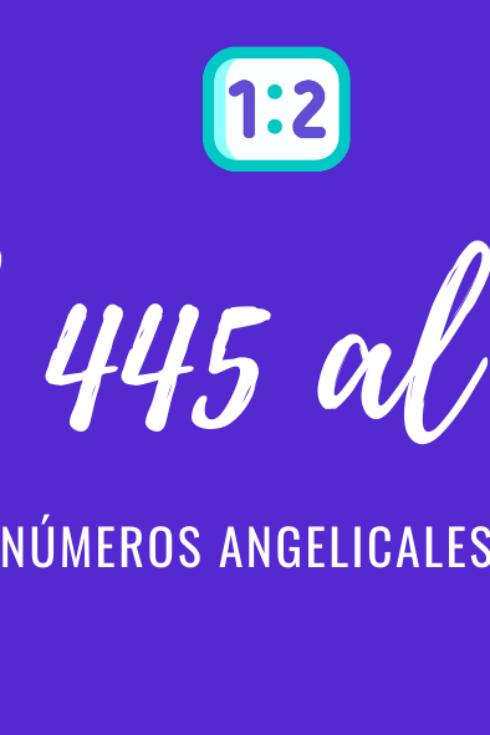 Significado de numerología angelical del 556 al 666