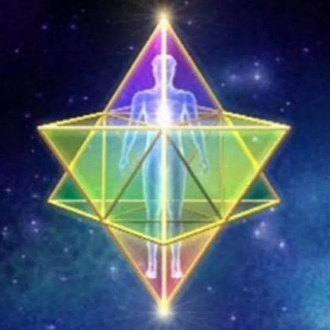 Merkaba geometria sagrada