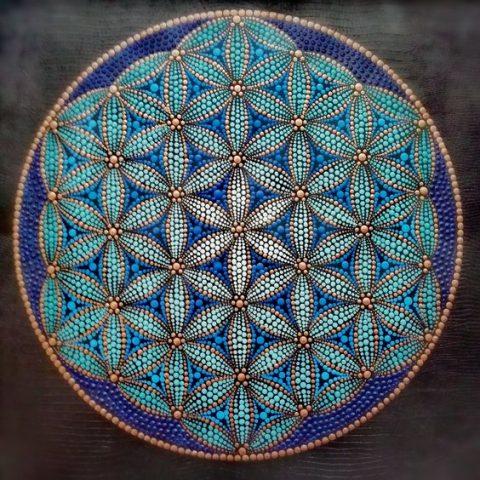geometria sagrada flor de la vida metatron