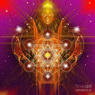 metatron y geometria sagrada