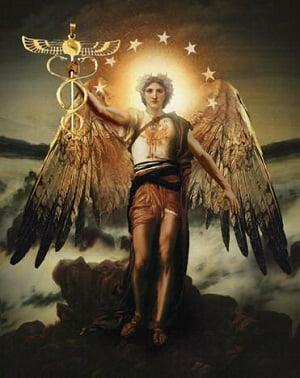 imagen de arcángel Rafael
