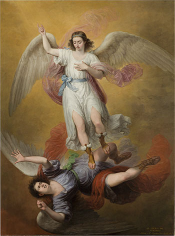 La caída de Luzbel arcangel miguel