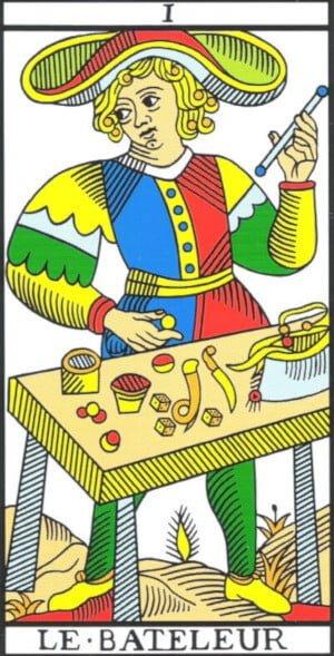 el mago tarot marsella