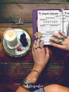 Cómo Desarrollar Tu Sexto Sentido Usando Un Diario Psíquico (+ Imprimible Gratis)