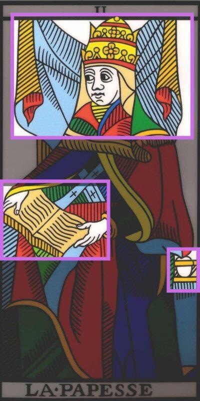 La suma sacerdotisa tarot marsella