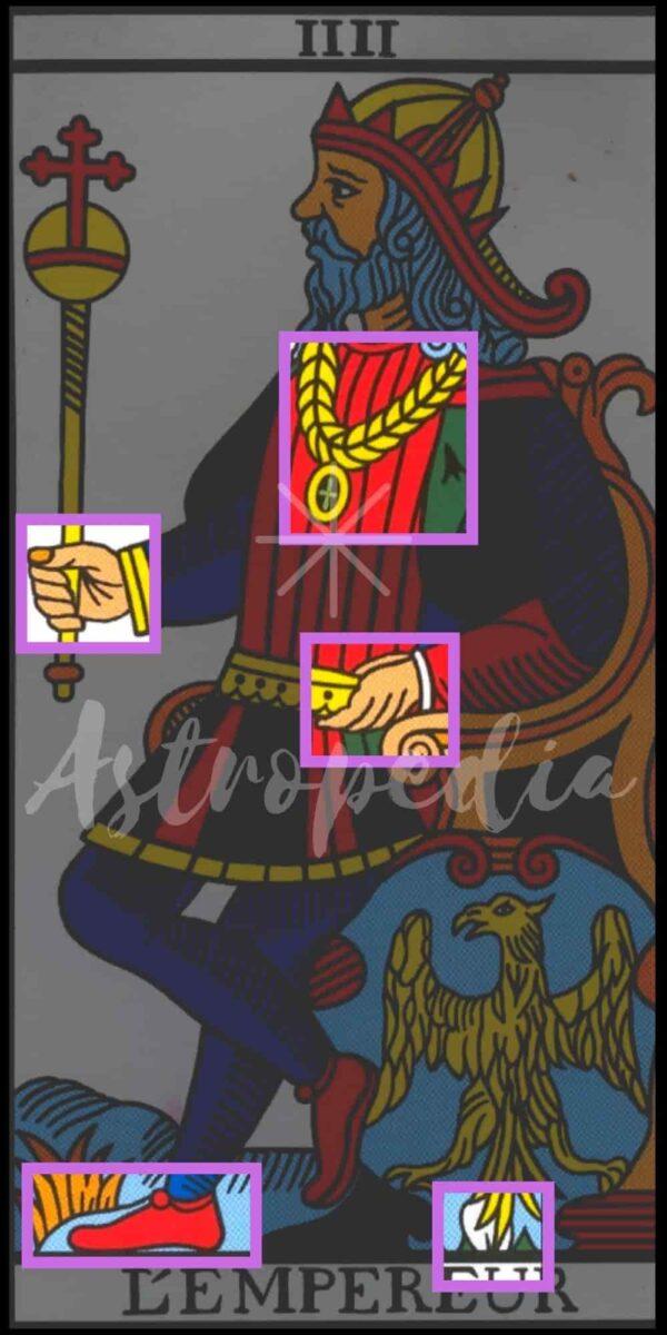 El emperador tarot de tiziana