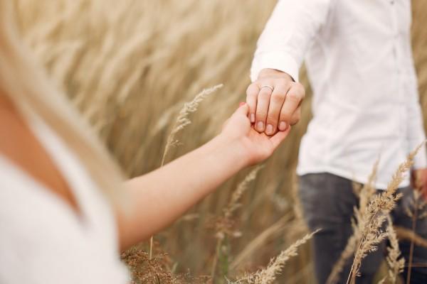 relación espiritual de pareja