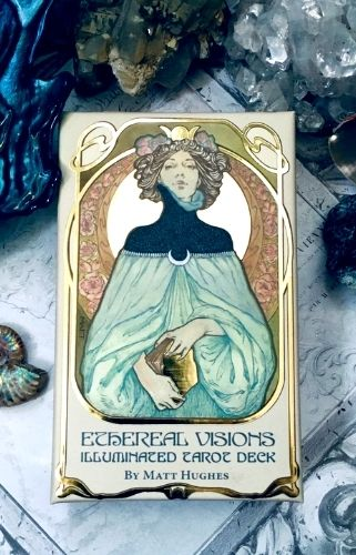 baraja de tarot de diseñador ethereal visions