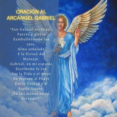 Oraciones al arcángel san gabriel