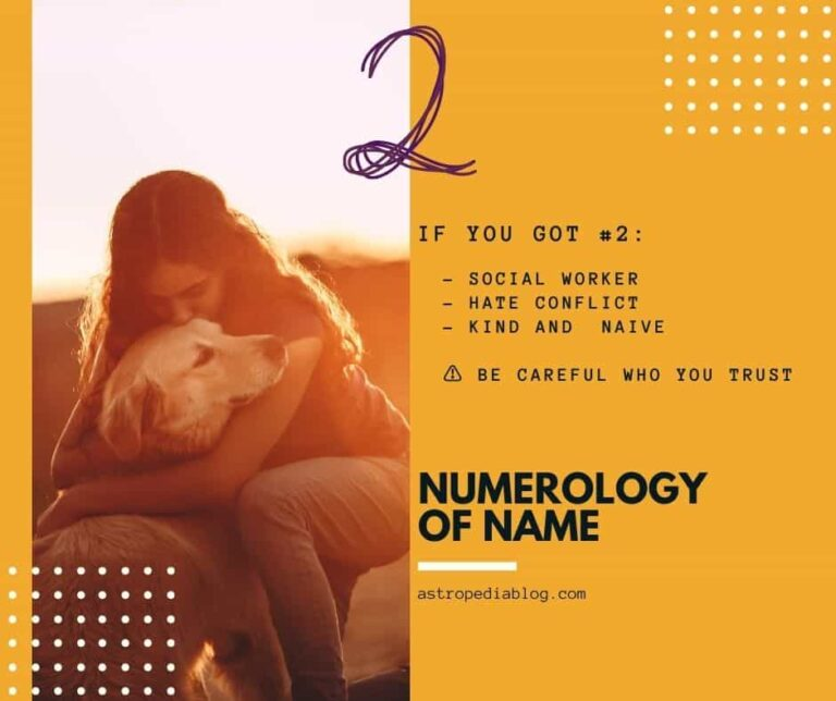 numerology name number 2