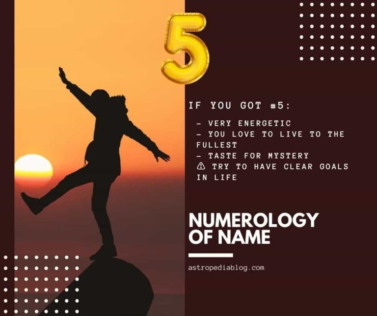 numerology name number 5