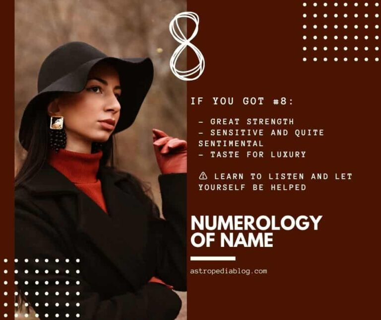 numerology name number 8