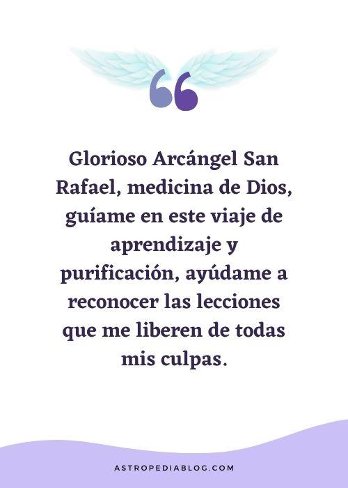 oración a san rafael arcángel para reconocer enfermedad