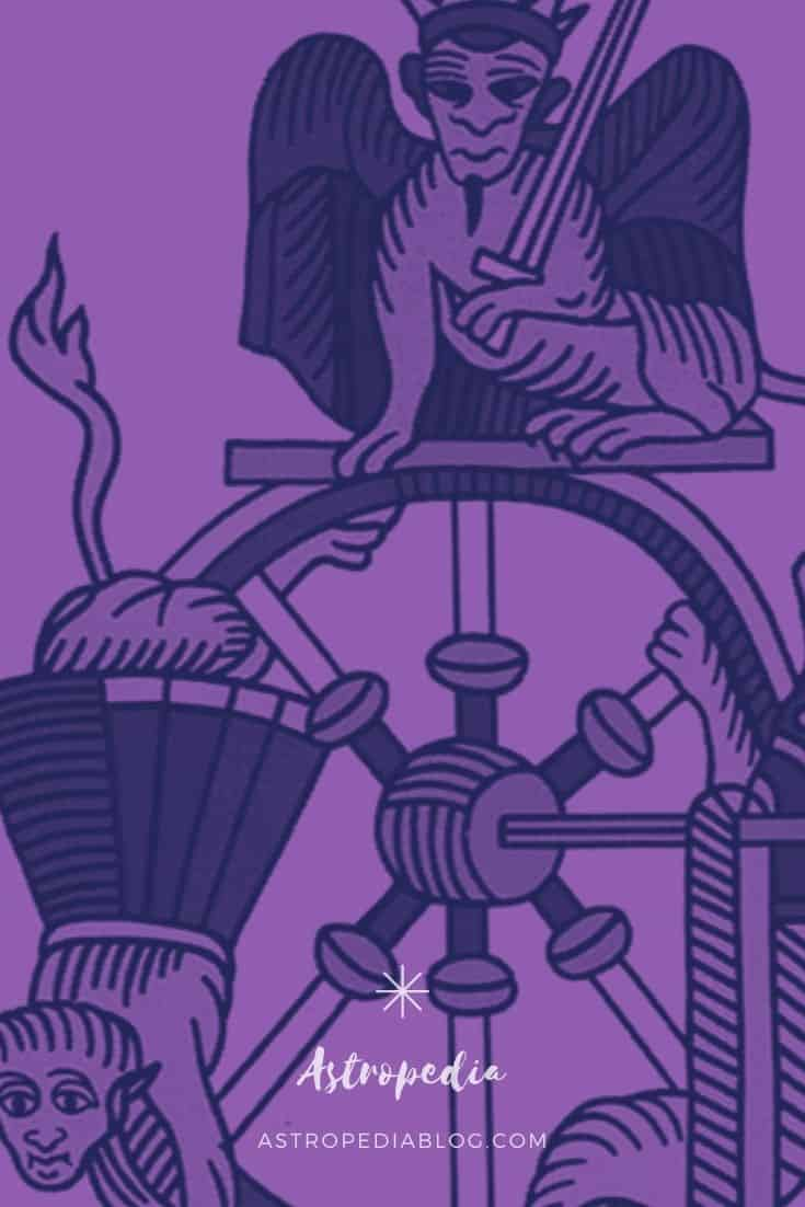 la rueda de la fortuna tarot de marsella significado