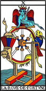 la rueda de la fortuna tarot significado